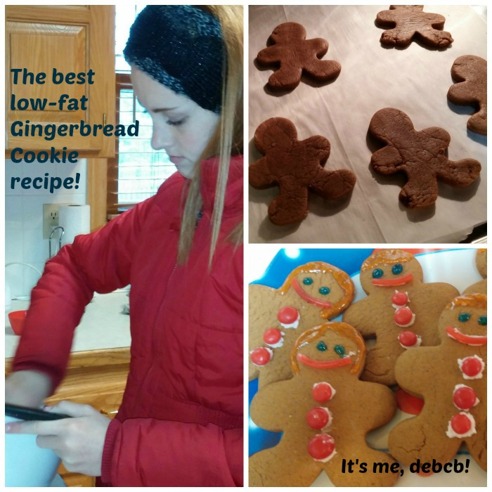 Holiday crafts and the best low-fat Gingerbread cookie ...