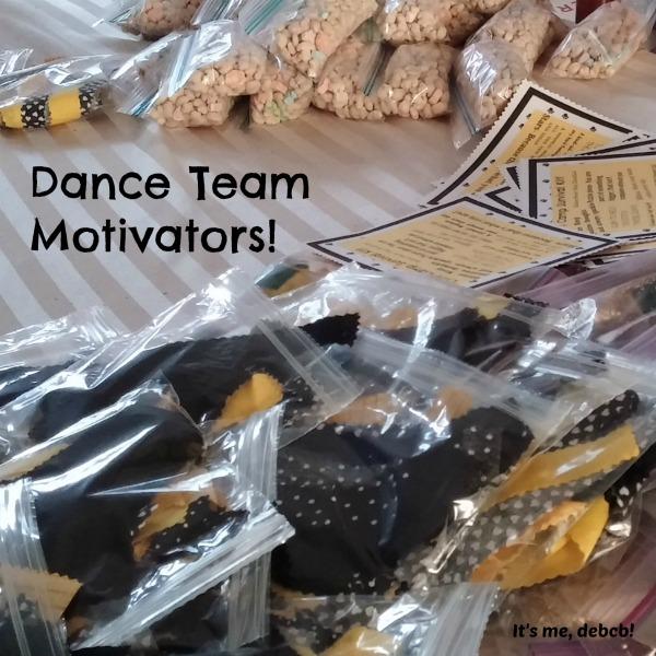 Dance Team Motivators- FREE printable!