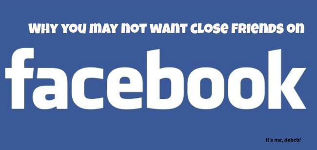 Close friends on Facebook