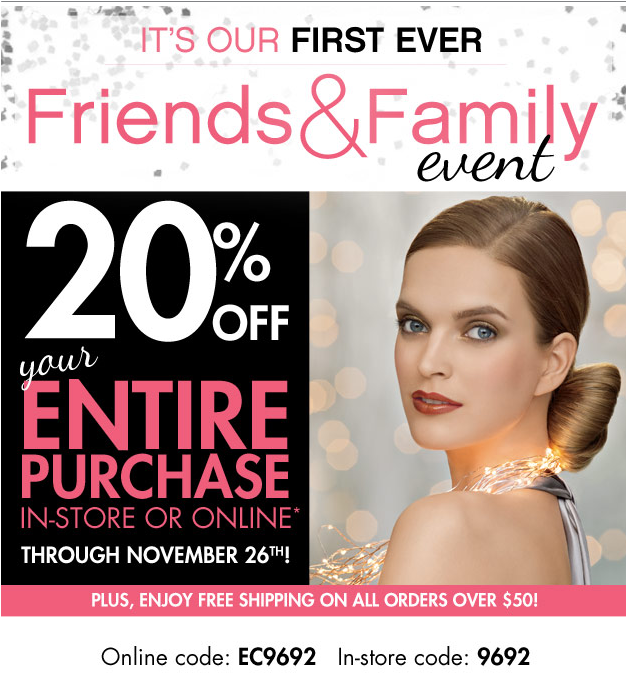 Beauty Brands Friends and Family Event