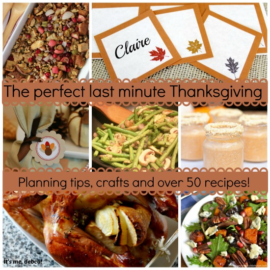 The perfect last minute Thanksgiving