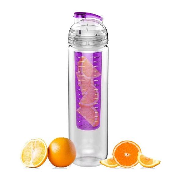 Sport Tritan Fruit Infuser Water Bottle