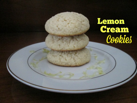 Lemon Cream Cookies- It's me, debcb!