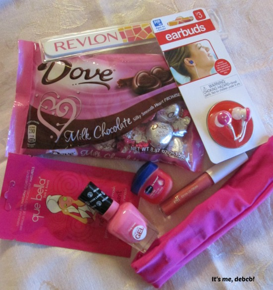 Valentine Jar Contents- It's me, debcb!