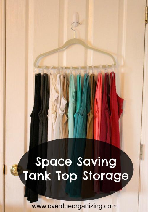 Tank Top Storage