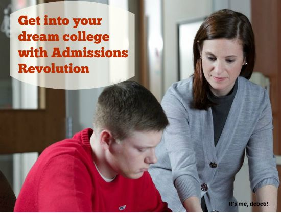 Get into your dream college with Admissions Revolution