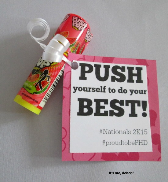 Push Pop Motivator