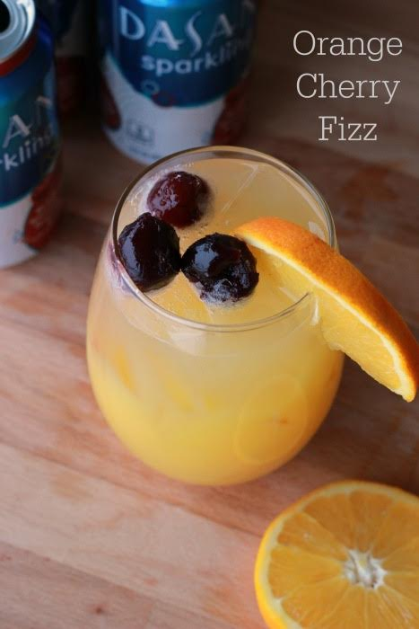 Orange Cherry Fizz by Summer Scraps