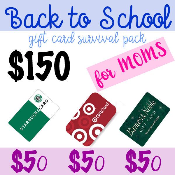 Back to School Giveaway for Moms!