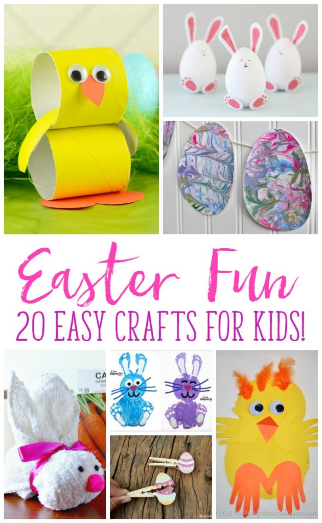 Easter crafts that your kid's will love